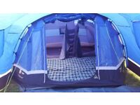 Hi Gear Mojave 5 tents x2 with Carpets, Porches and Footprints