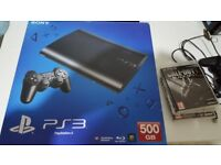 SONY PS3 SUPER SLIM 500GB, 1 CONTROLLER