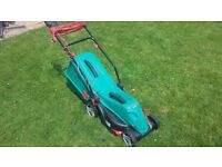 Bosch Electric Lawnmower 100% WORKING pre-owned in great condition!!