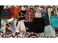 Boy's aged 8-9 clothes bundle