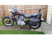 Harley Davidson XLH 883 C Sportster stage one tuned