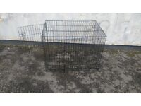 CAGE DOG'S OR PET'S CAGE MEASURES APPROXIMATELY 3 FT BY 2 FT AVAILABLE FOR SALE