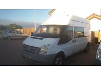 Ford transit 350 lwb ideal camper project, may swap/px