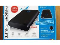 External Hdd's Enclosure Kits with Hdd's