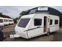 2008 Abbey Vogue 4 berth fixed bed