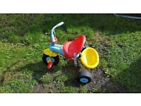 Childs smart trike in excellent condition