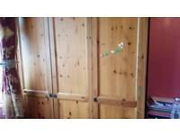 Ikea 3 door cupboard x2