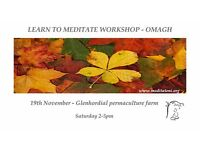 Learn to meditate workshop - Omagh