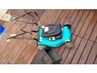 Petrol lawn mower self propelled 95cc 2yo