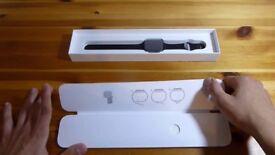 Apple watch series 1 42mm black hardly used