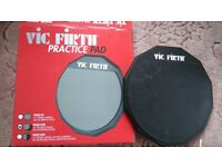Vic Firth 30cm Double Sided Practice Pad