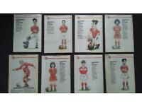 Series of Evening Gazette inserts form 1991 about Middlesbrough F.C.