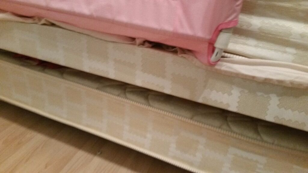 Single divan with guest bed