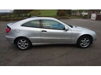 Mercedes-Benz C180 Sports Coupe - Spares or Repair