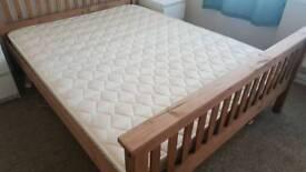 King size sprung mattress