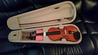 VIVA 3/4 Violin including Bow and travel case