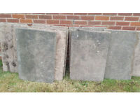 used paving slabs. for free