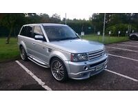 "RANGE ROVER SPORT ""PROJECT KAHN"" 22""ALLOYS /DVD"