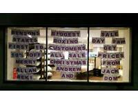 Bensons biggest ever winter sale starts 9am boxing day