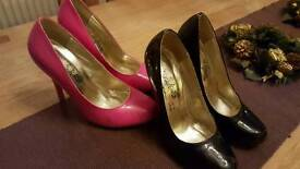 2 x pairs heels £5 each