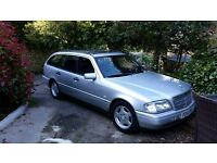 Mercedes estate, full leather, same family for 14 years, long MOT & reliable and comfortable