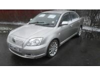 2003 toyota avensis 1.8 low miles massive service history 2 owners