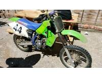 90s Kawasaki KX100 - Running - Needs Attention
