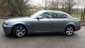 BMW 520 diesel 160 bhp full lather full service history front and back parking sensors