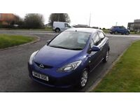 MAZDA 2 1.4 TS2 Diesel,2008,Alloys,Air Con,Central Locking,Very Economical £30 A Year Road Tax