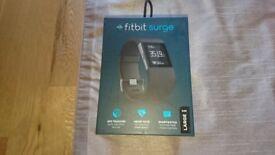 fitbit surge black, large