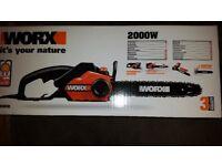 WORX WG303E 40 cm Electric Chainsaw Brand New In Box