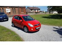 09 REG HYUNDAI I20 1.4 CRDI STYLE 5DR LEATHER FSH MOT-19 £30-TAX OUTSTANDING FREE-DELIVERY CHEAP CAR