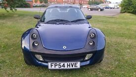 Smart Roadster in Mint condition and very low mileage.