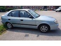 Hyundai accent, 54 plate, 1.6 petrol