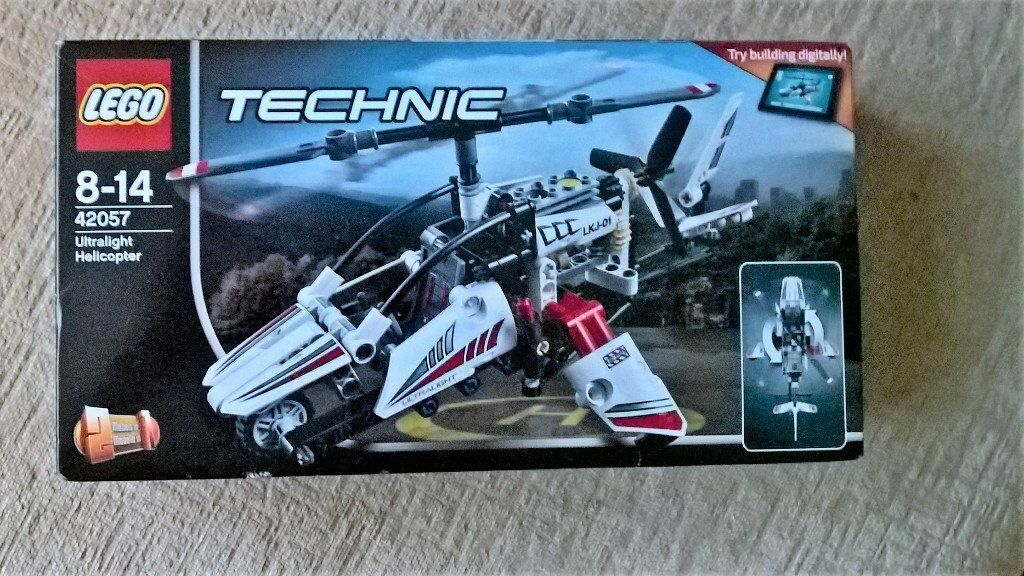 Lego Technic Ultralight Helicopter 42057 New In Frampton Cotterell