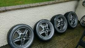Mitsubishi FTO alloy wheels