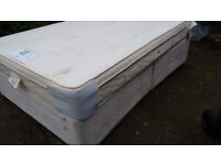 Really Nice Double Bed . Complete with mattress. Quick FREE Delivery Hardly Used. Very very clean