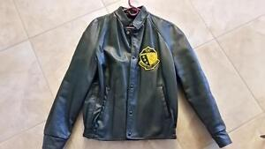 St. Jerome's College Leather Jacket
