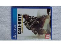 Call of Duty Advanced Warfare PS4 Nottinghamshire MINT