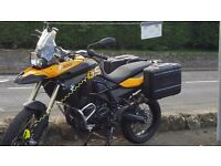 Bmw f800 gs 3300 miles 59 plate as new
