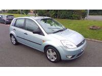2003 Ford Fiesta Zetec 1.4 Petrol 5 Door 8 Month MOT Alloy Wheels Sunroof....