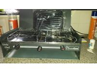 Sunn Gas little chef portable double gas stove and grill