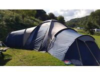 Wynnster Satelite 9 Tent, 3 large bedrooms that sleeps up to 9 people, large living area in centre