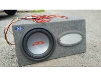 Subwoofer Alpine 12 inch with amp 1200 watts