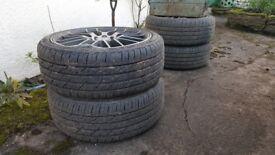 205 40 zr17 tyres x4