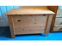 Wooden Toy Treasure Chest