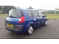 GRAND SCENIC AUTOMATIC IN CLEAN CONDITION. LONG MOT & TAX. FULL SERVICE HISTORY. CAMBELT REPLACED