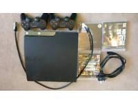 PS3 slim 500GB w\ Last of Us, GTA V, & Skyrim