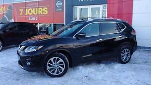 2014 Nissan Rogue SL / CUIR / NAVIGATION / CAMERA 360 / PNEUS HI