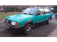 vw polo 1994 coupe parade ony 17 left on the road mot 13th july